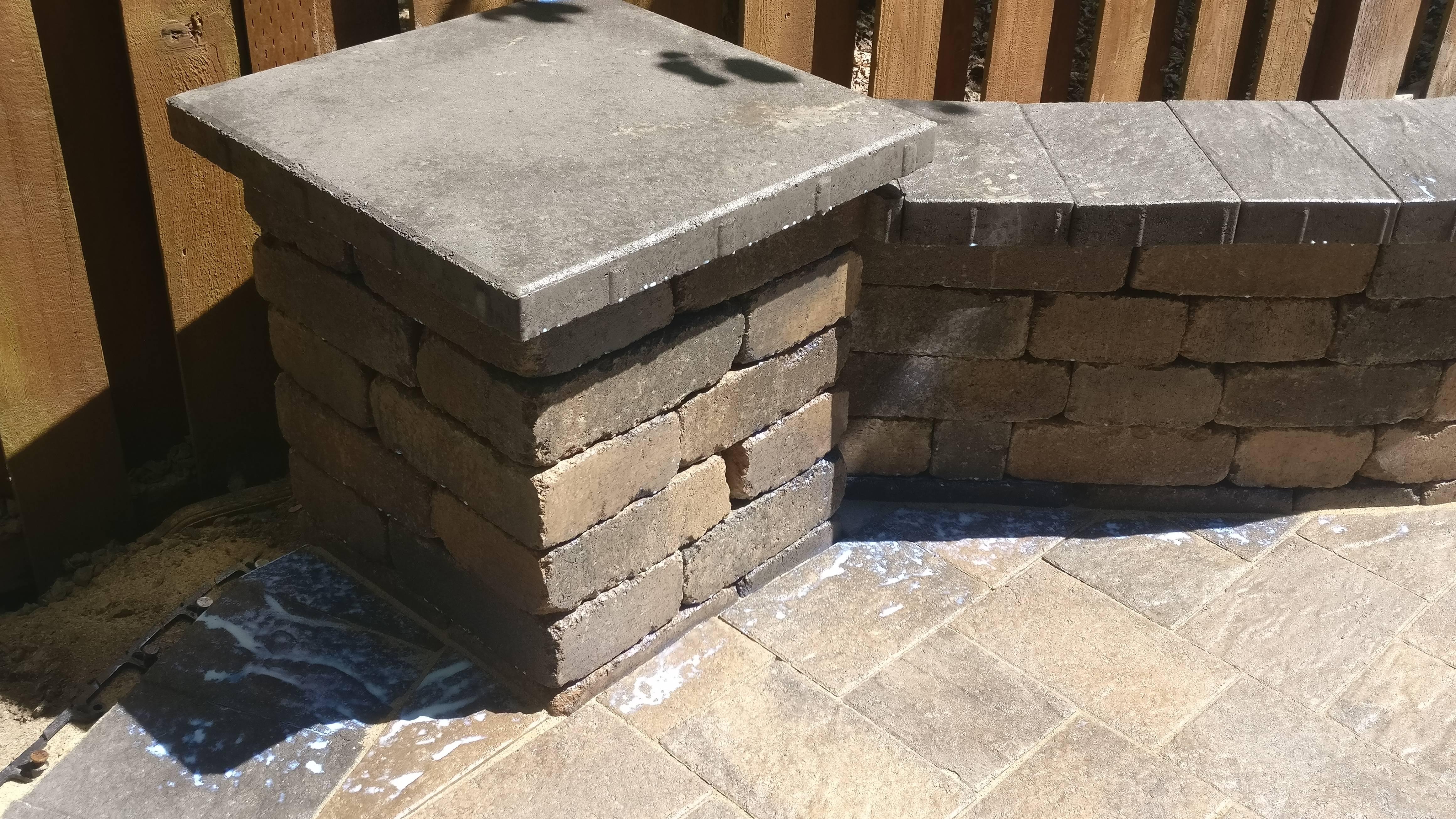 Wall Column install in Hillsboro