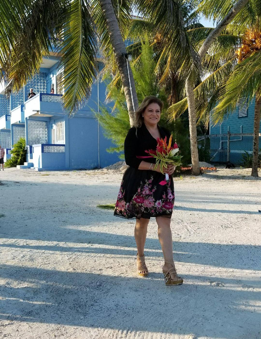MAID-OF-HONOR, SAN PEDRO, BELIZE