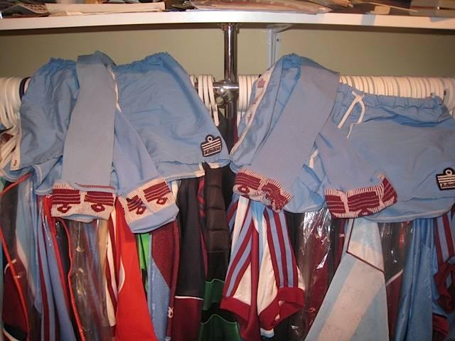 Away players socks shorts 1976/80