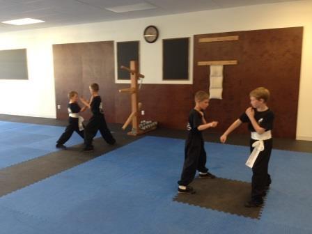 Kids Kung Fu Conditioning Drills