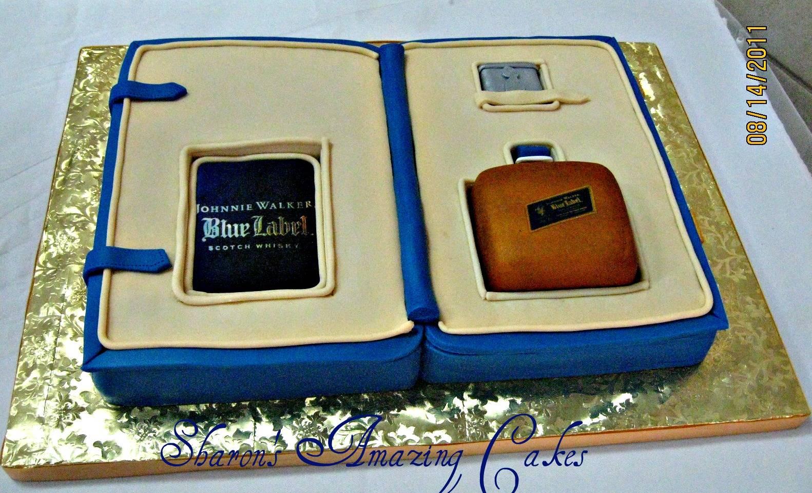 CAKE 14G -Johnny Walker Gift Set Cake