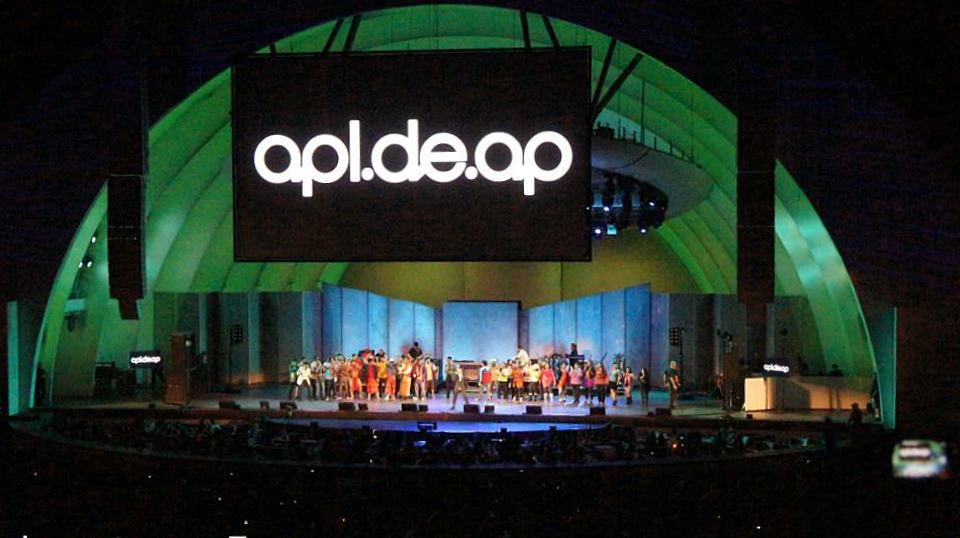 Apl.de.Ap Takes You to the Philippines, Hollywood Bowl