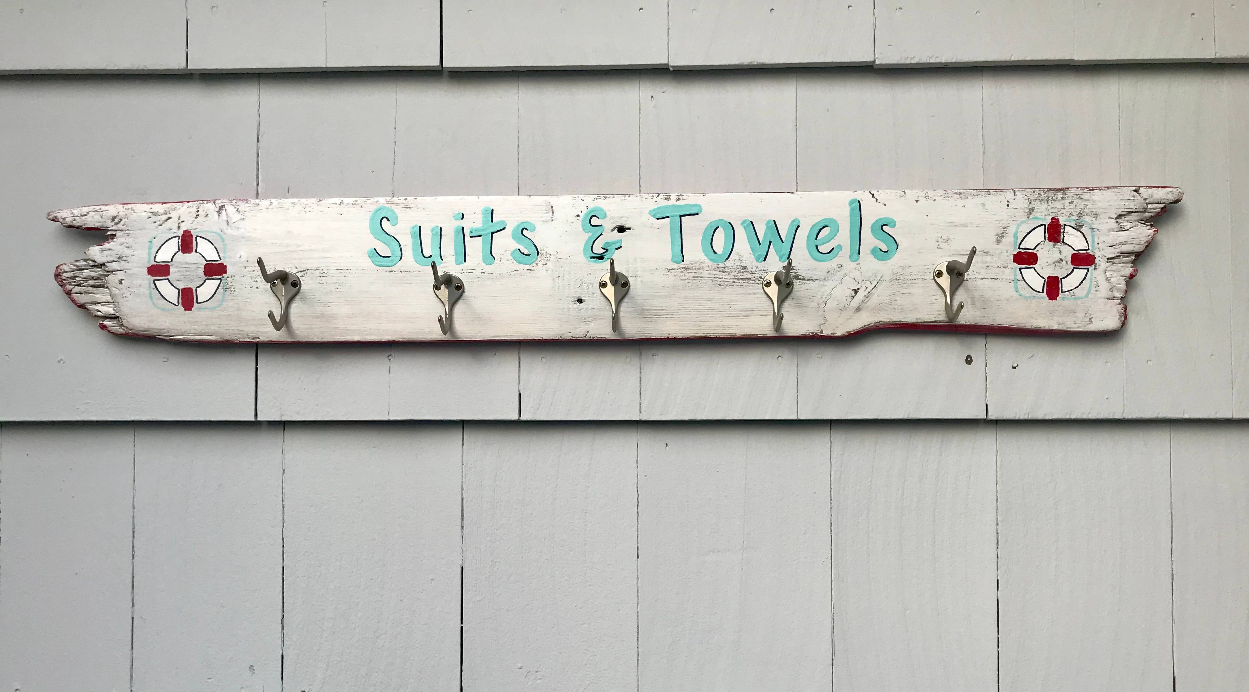 Suits and Towels hanger
