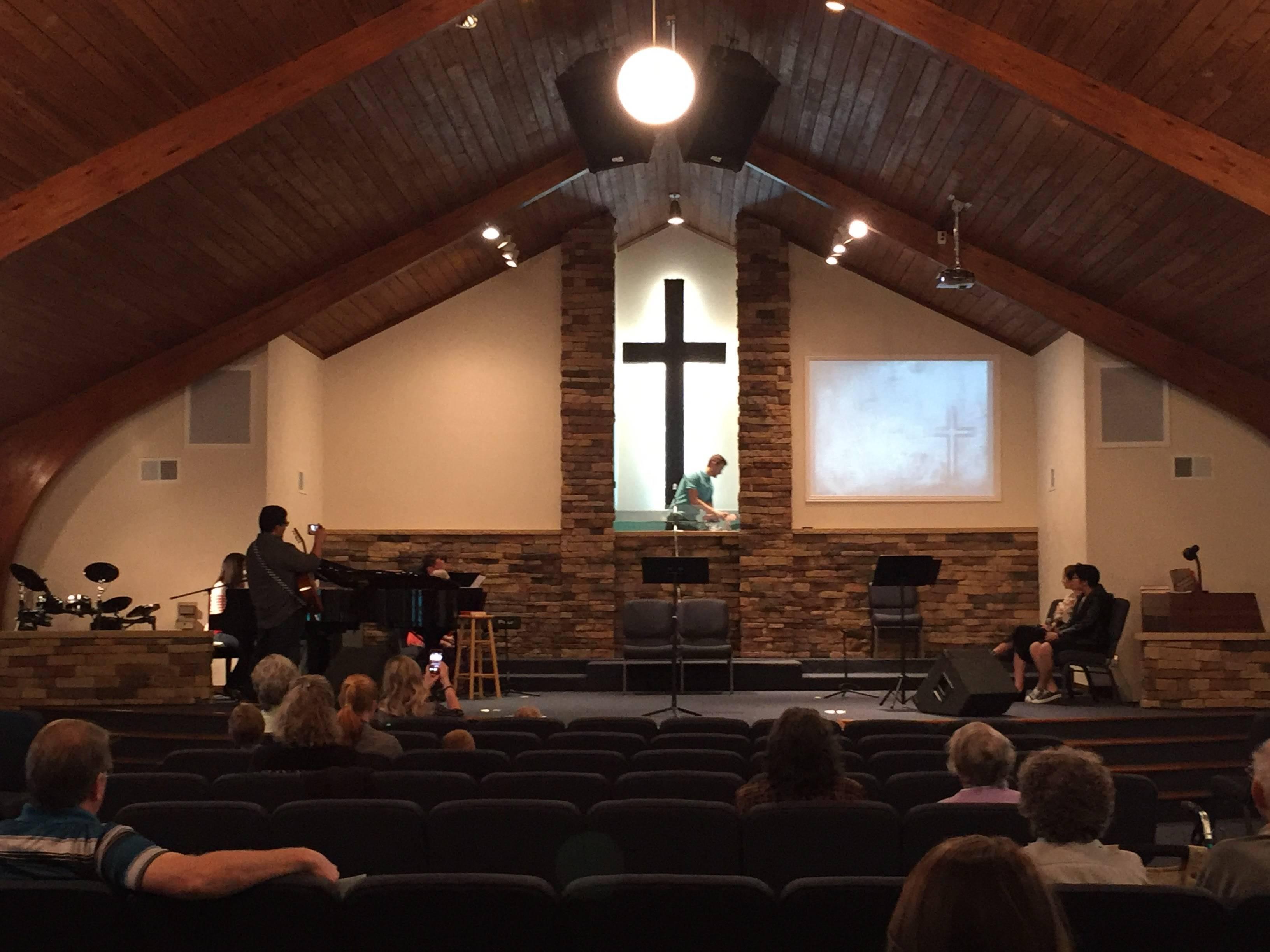 Seth Postell Baptism