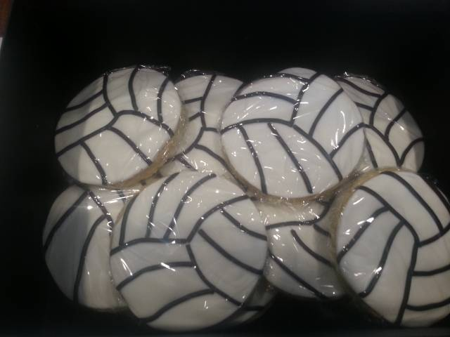 Vollyball cookies
