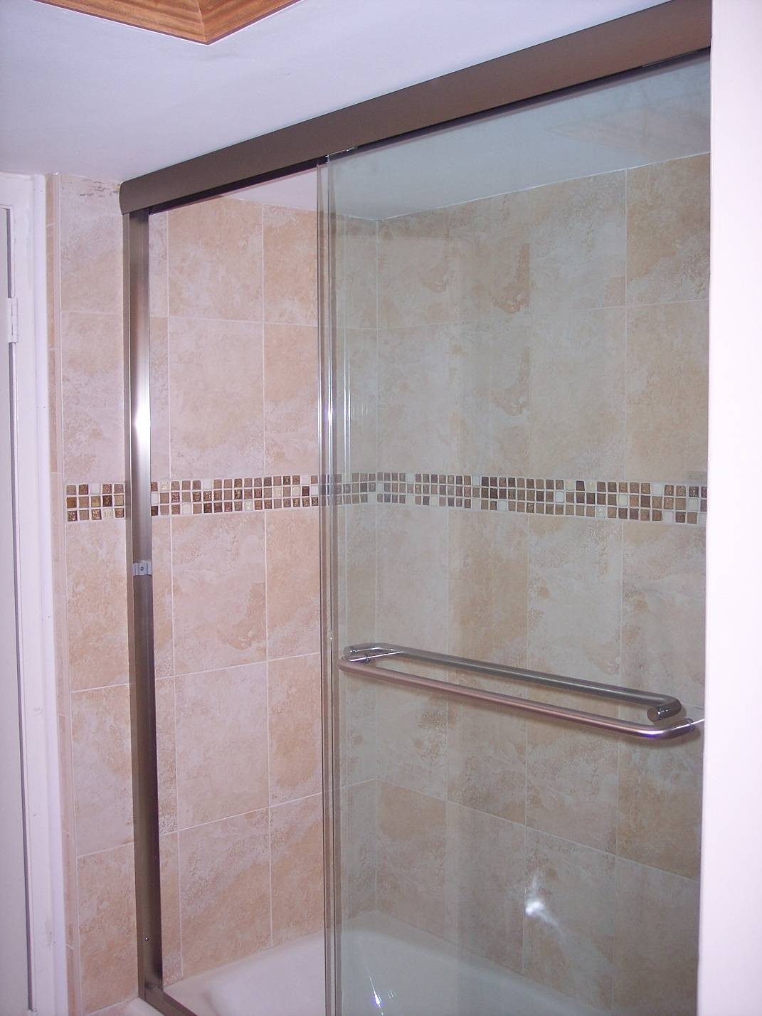 New features in the shower.