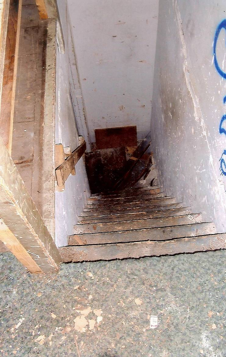 Entry to attic
