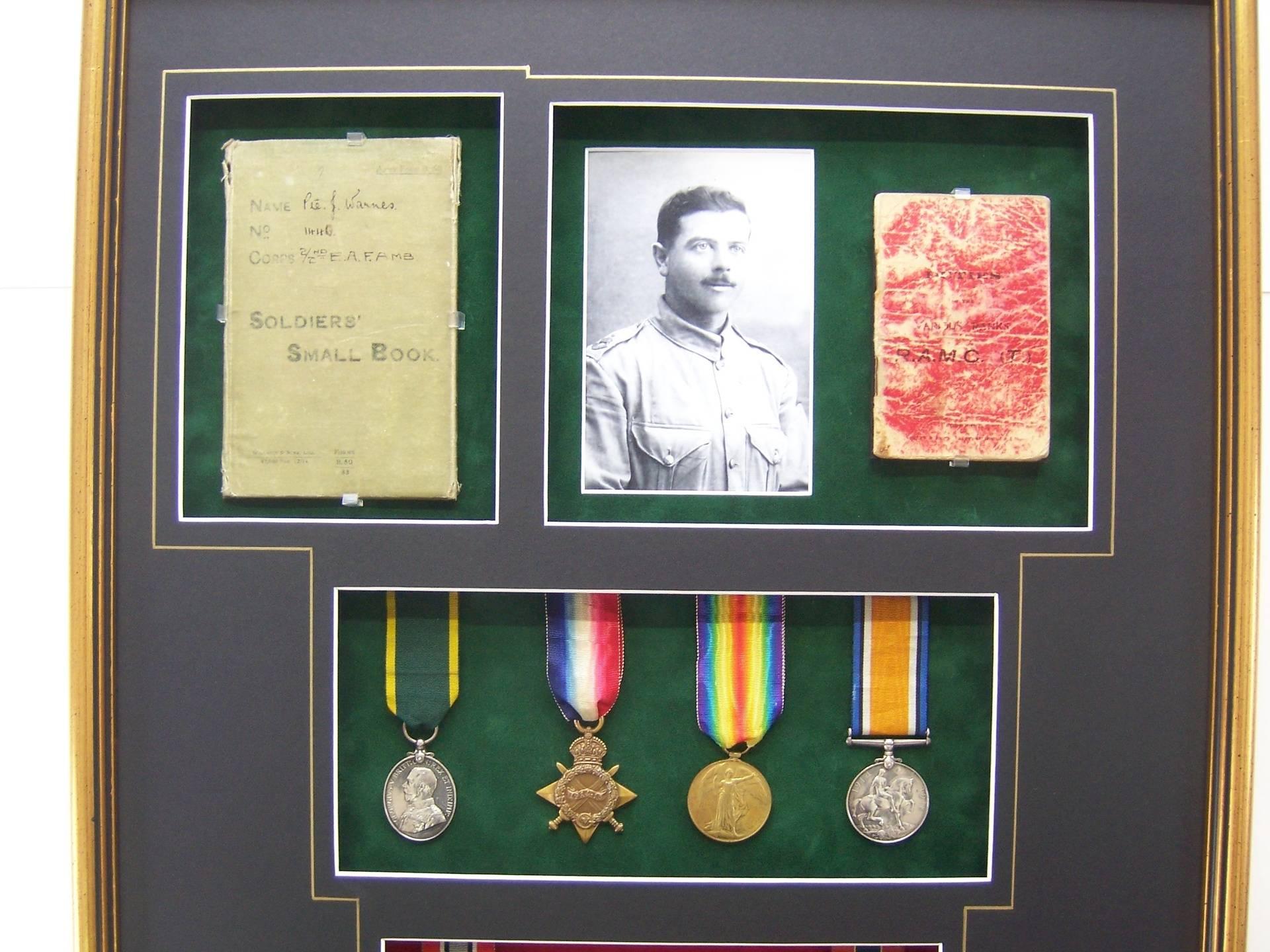 First world War Medal Box