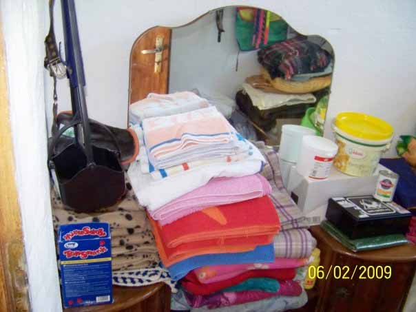 June 09 -  Our little storeroom is looking rather full