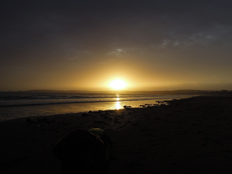 Sunset, Gower, 13th December 2013