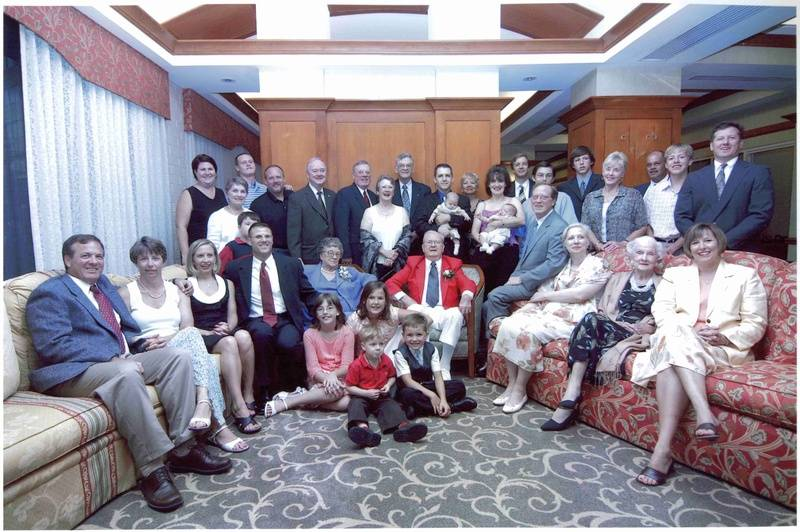 Fletcher Austin Manning and Mary Carol Squires Manning 70th Anniversary