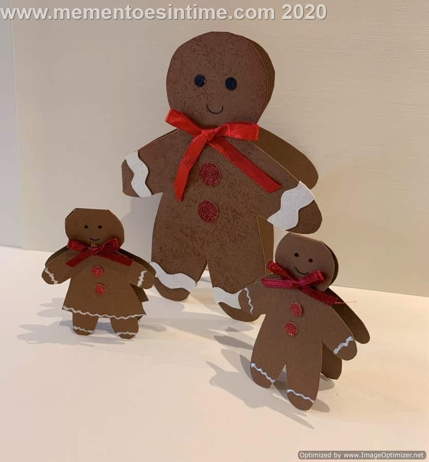 Gingerbread People Template3