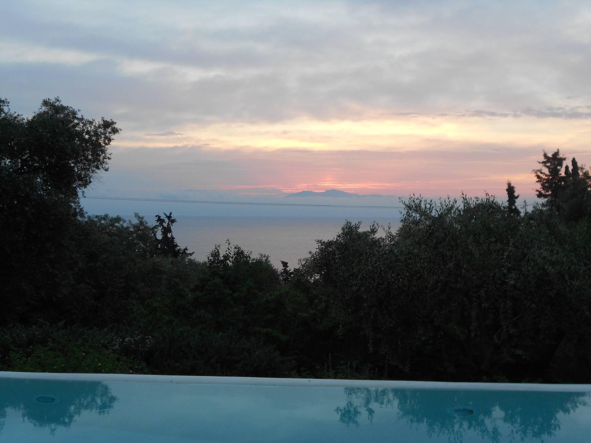 Sunrise at Lithia near Orkos beach