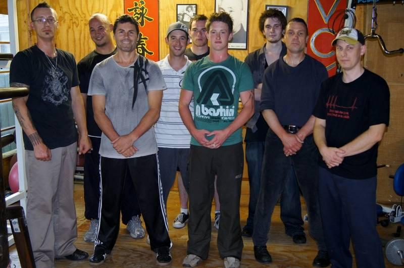 Paul & some of the Boyz Xmas 2011