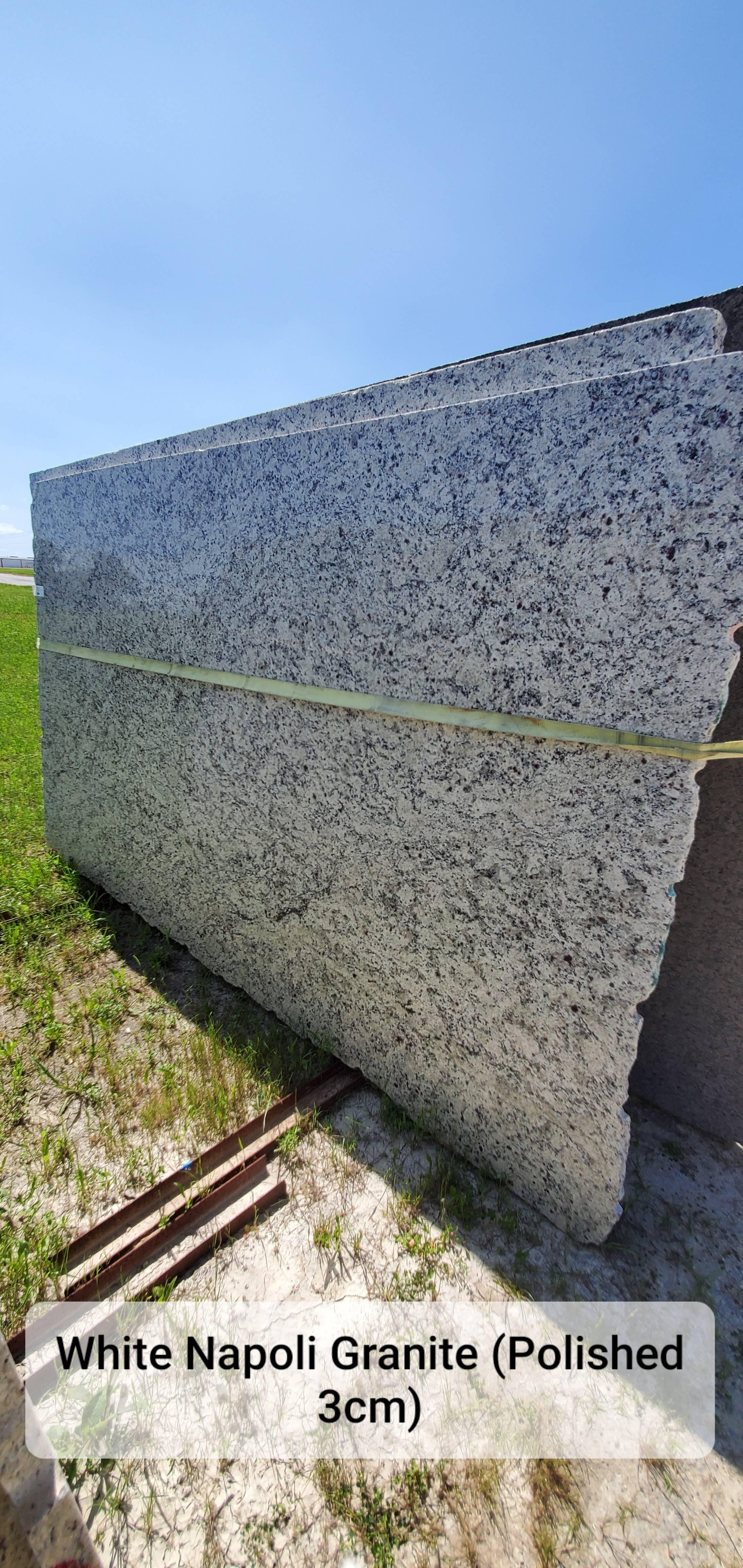 White Napoli Granite (P 3CM)
