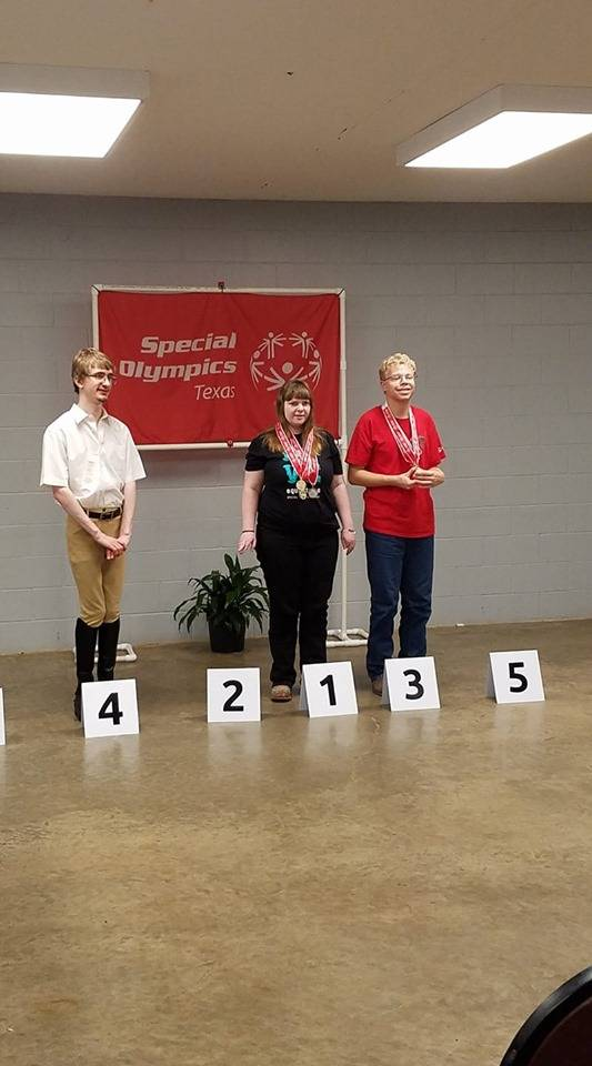 Lydia 3rd place