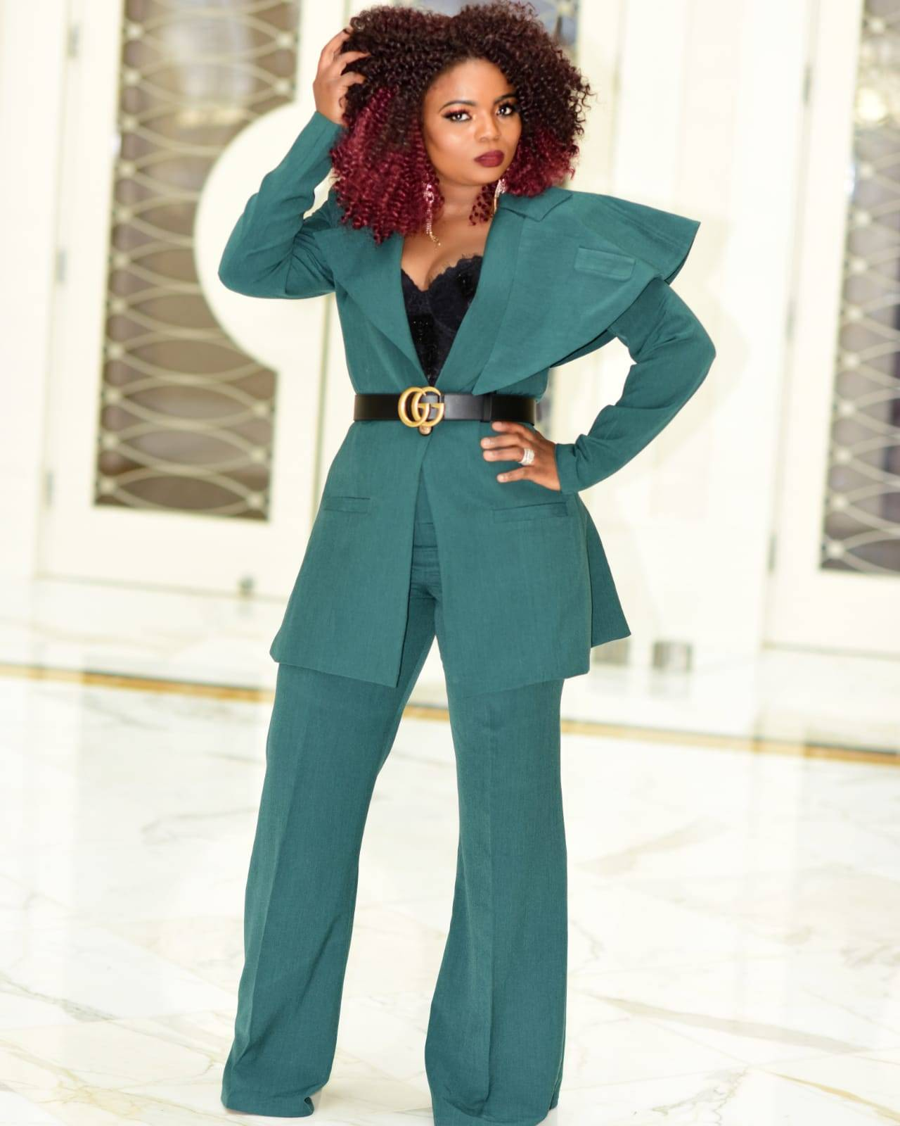 The Kelly Two-Piece Suit Set