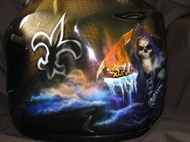 Saints - Reaper Helmet