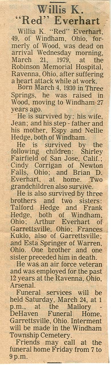 Everhart, Willis K. 1979