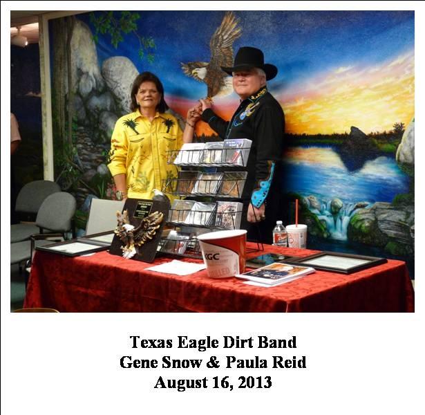 Gene Snow & Paula Reid, 08/16/2013