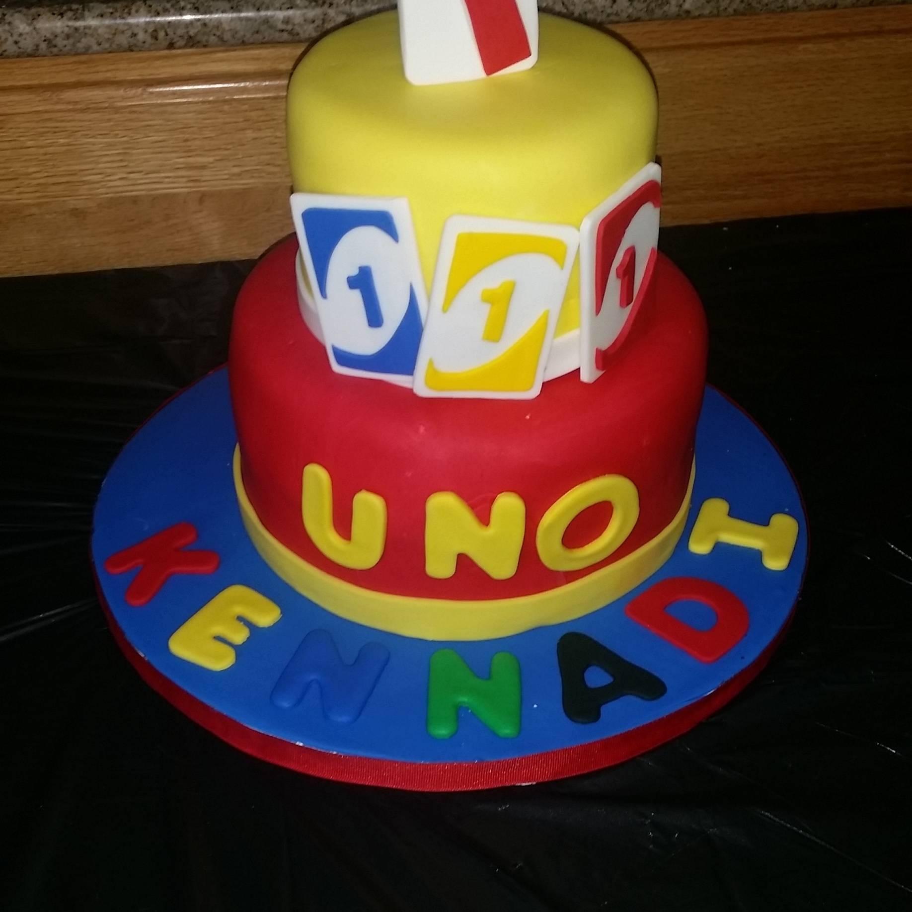 Uno First Birthday