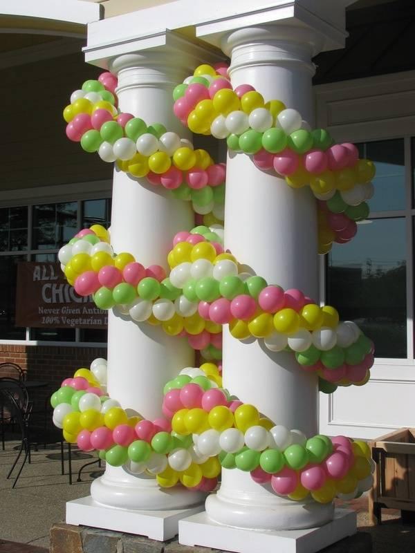 Balloon Garland at Congressional Plaza