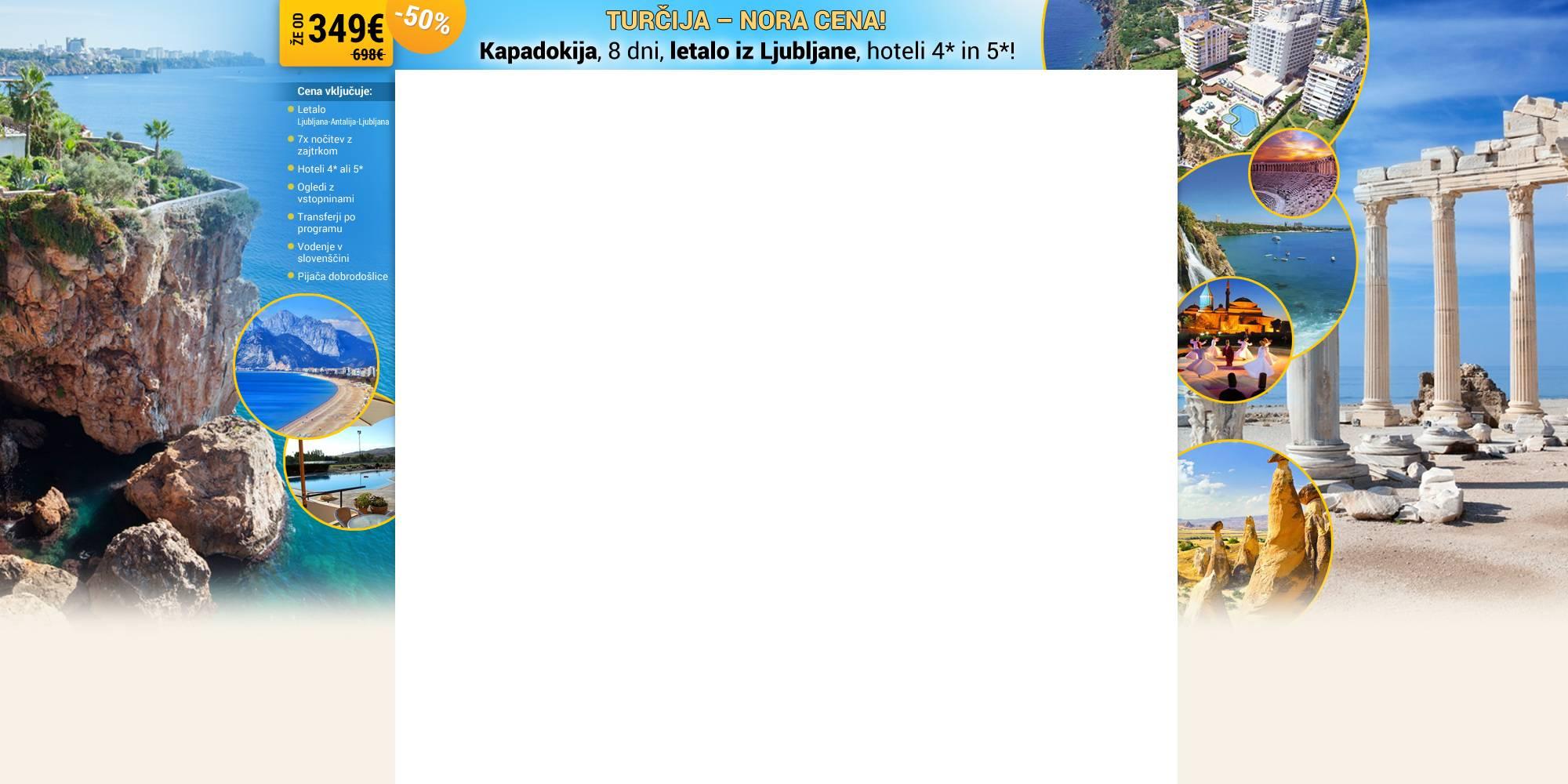 spletno ozadje Izlet v Turcijo