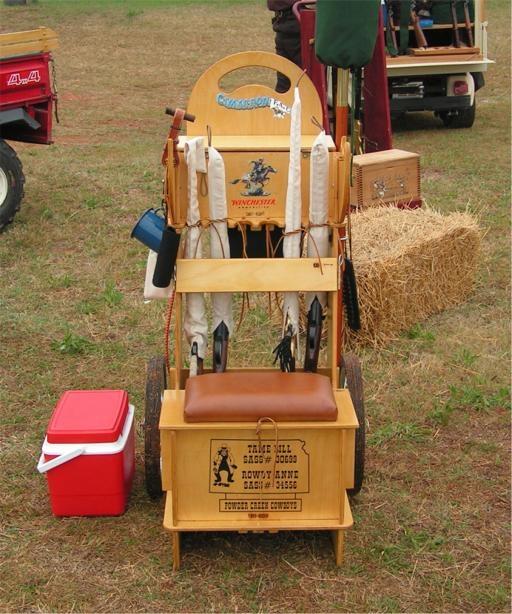 Cartright Gun Cart