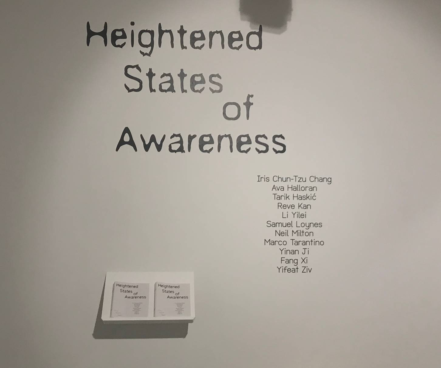 Heightened States of Awareness (2019)