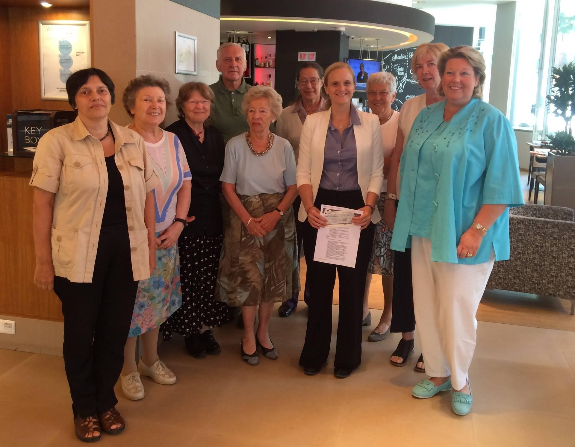 Fany Brotcorne received a Marie Derscheid-Delcourt research grant