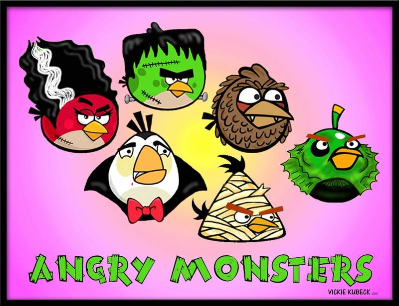 Angry Monsters