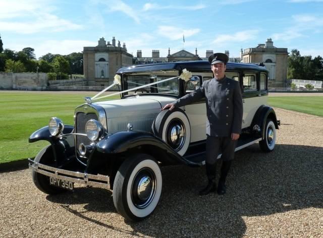 Chauffeur at Woburn Abbey