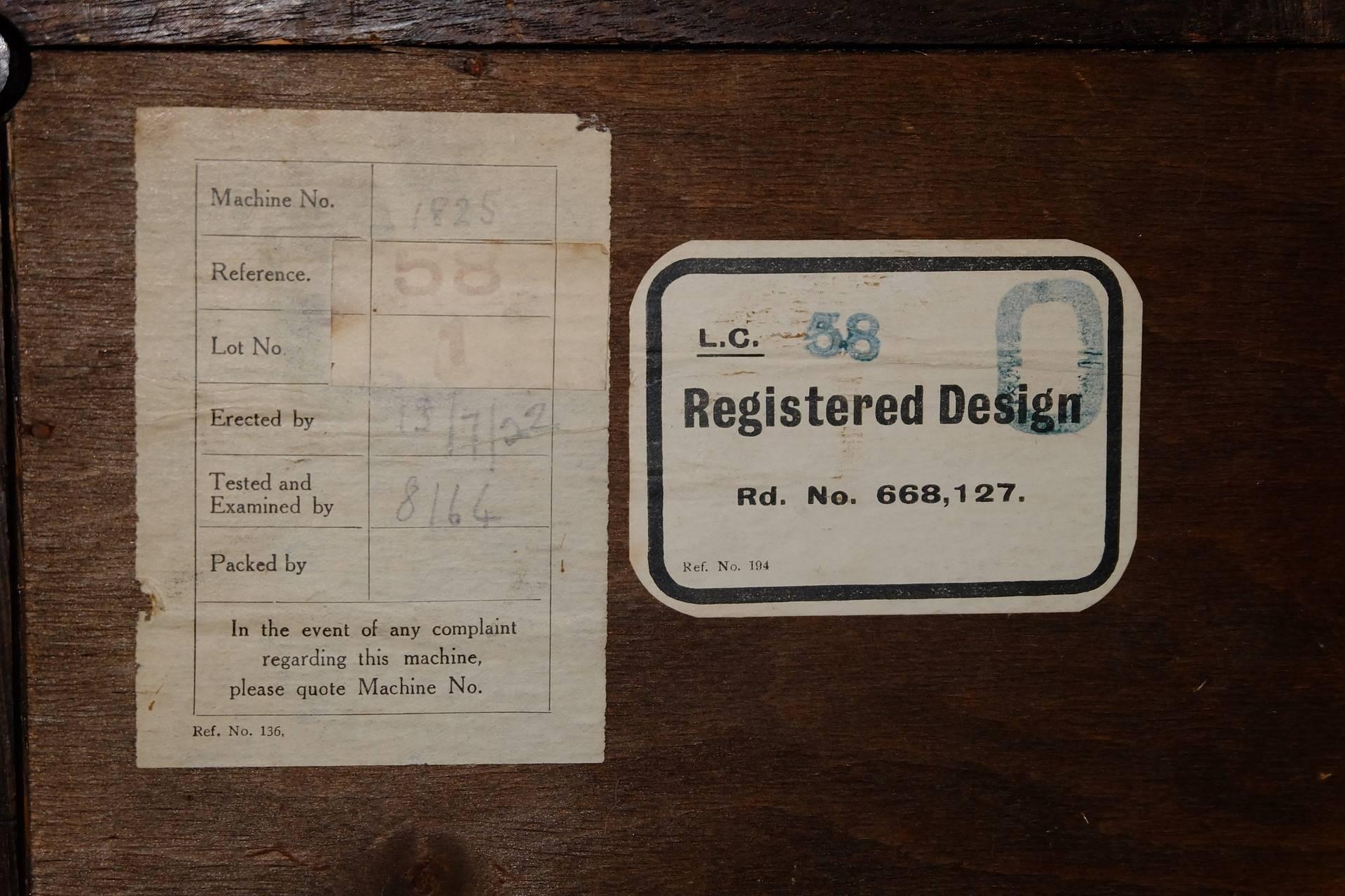 HMV58_012 Paper labels