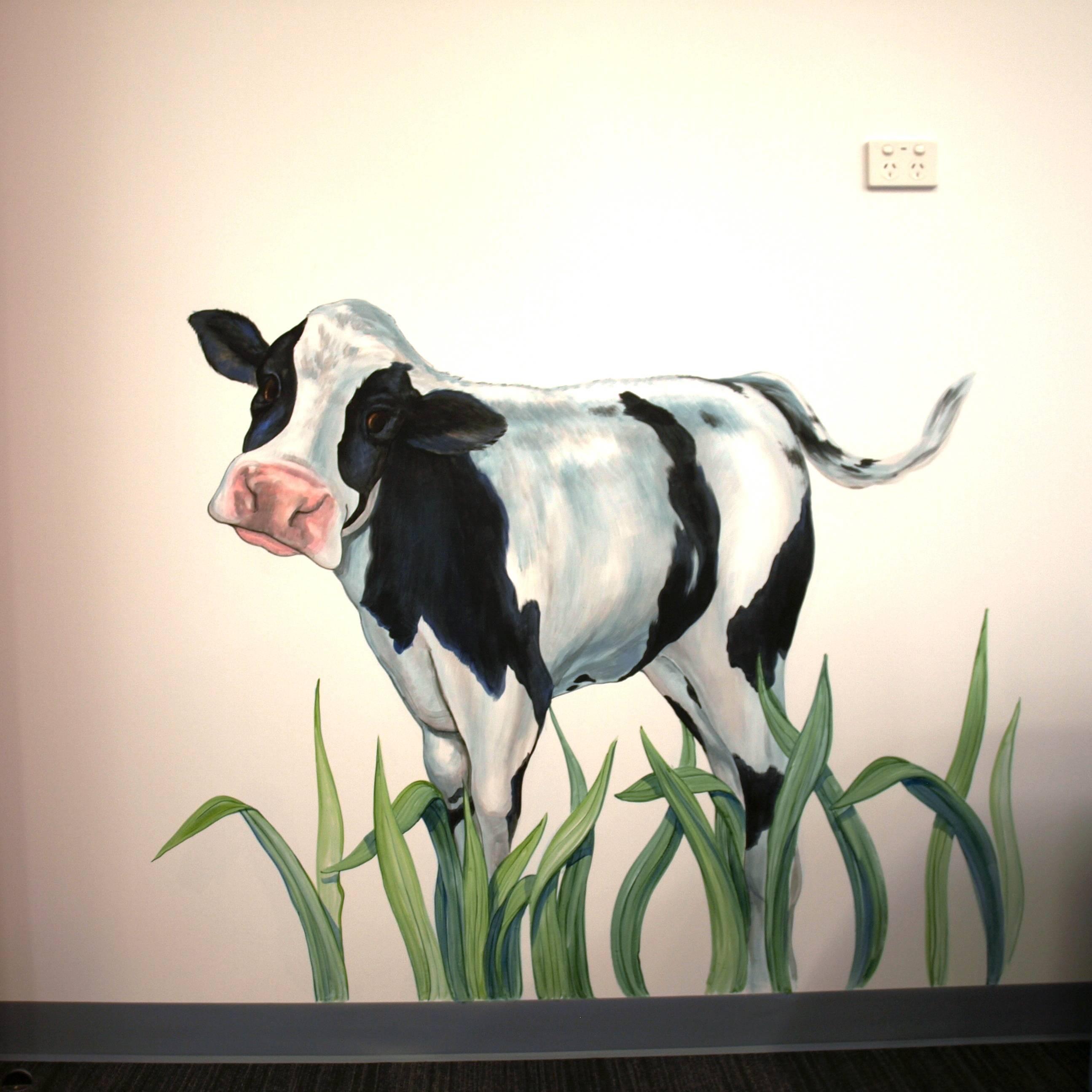 FARMYARD  claudette the cow