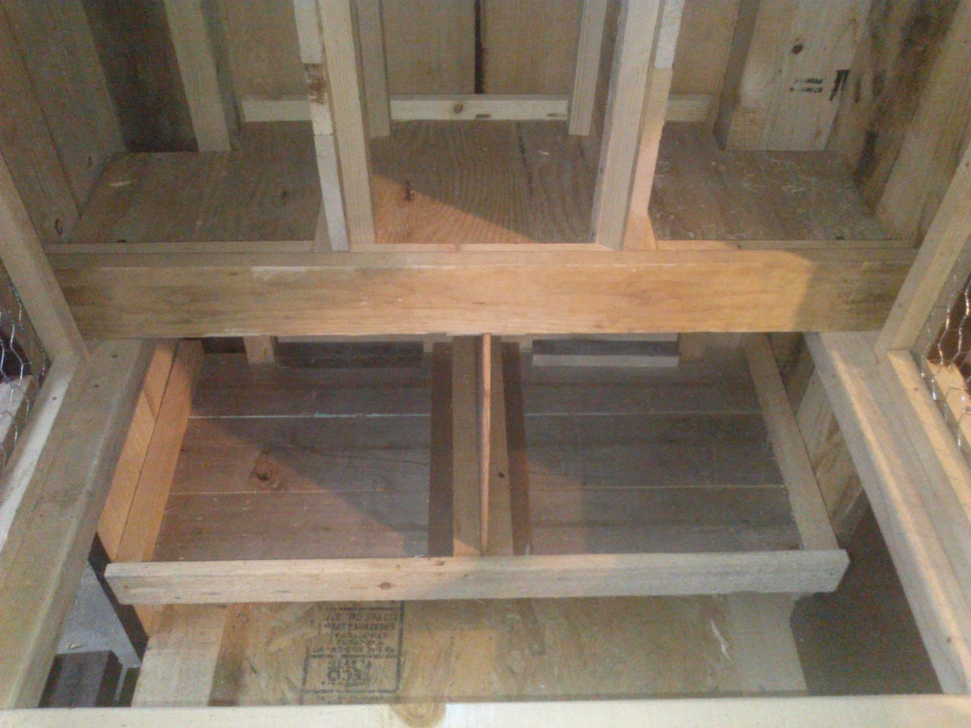 removable nest boxes