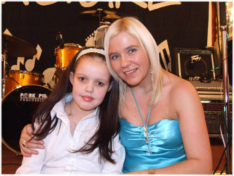 Fhiona  with Emma from Aberdeen