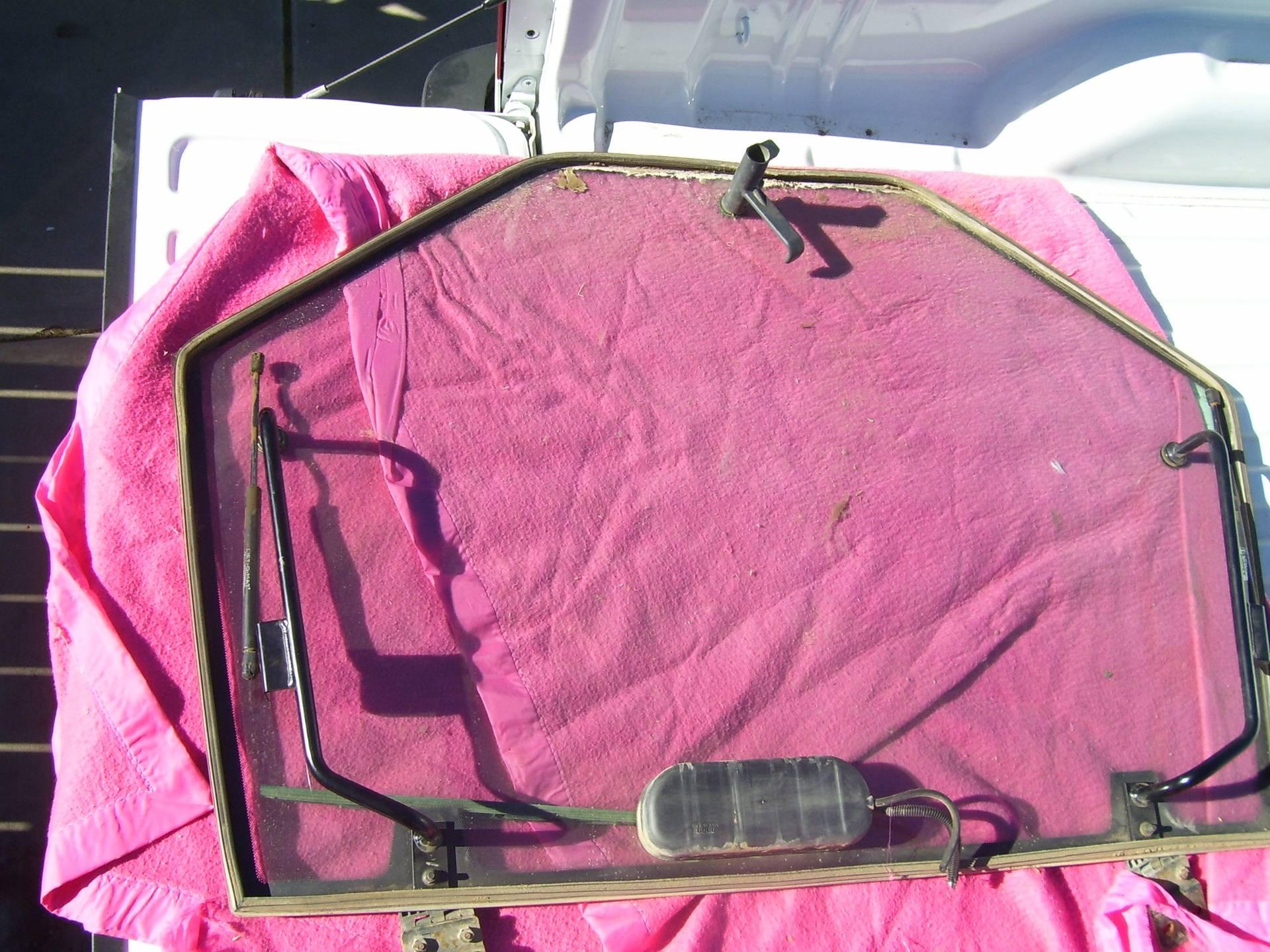 35 - 55 Rear Window W/ Hardware