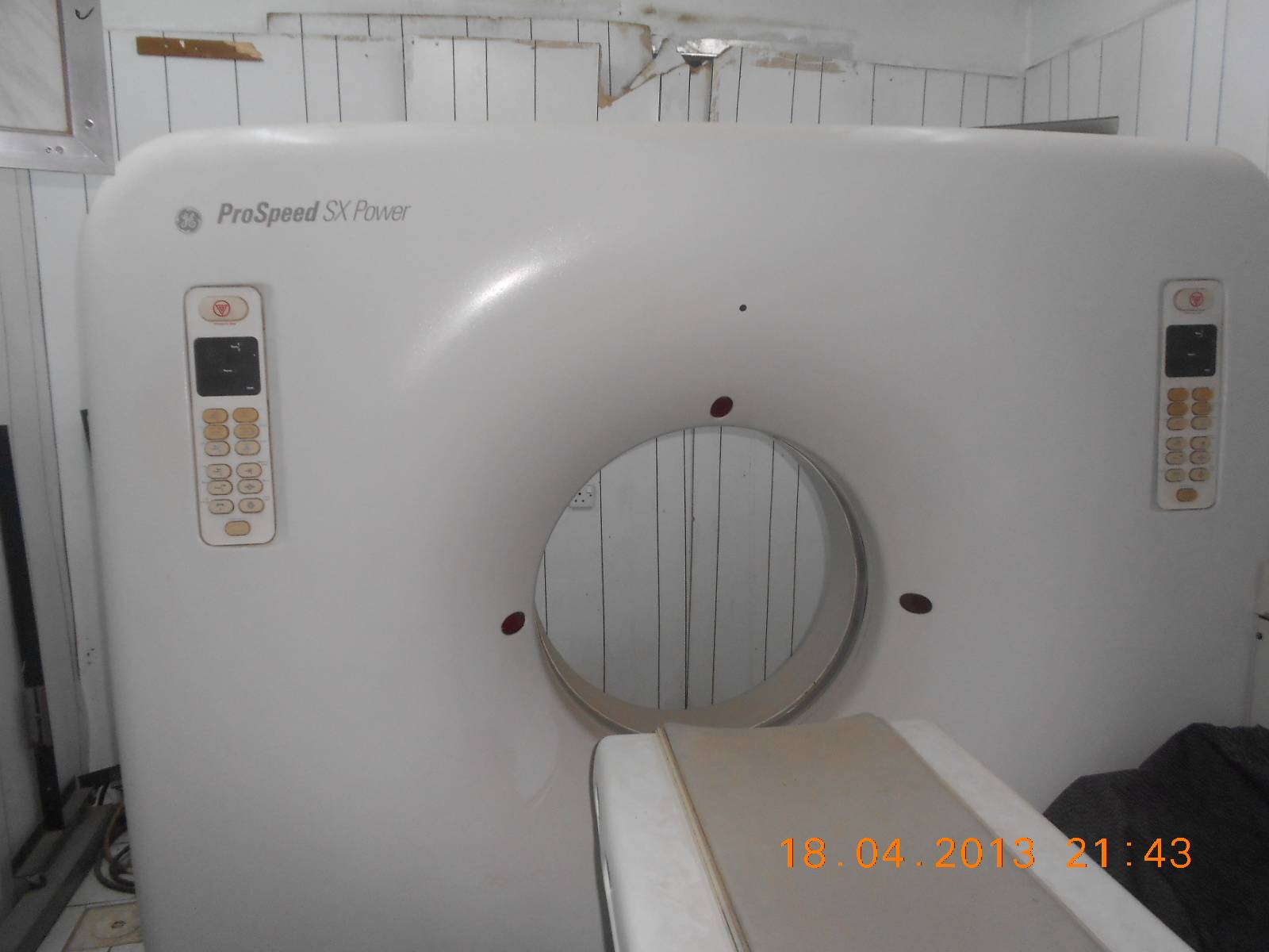 GE ProSpeed CT-Scanner