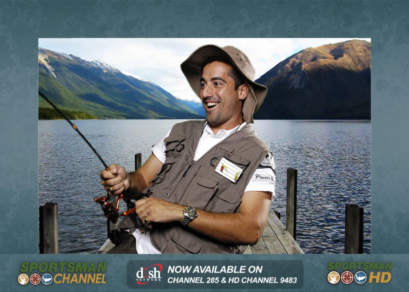 Fishing, Sports, Green Screen Photo Booth