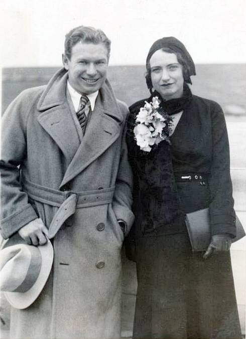 Mr. and Mrs. Charles Paddock (#2)