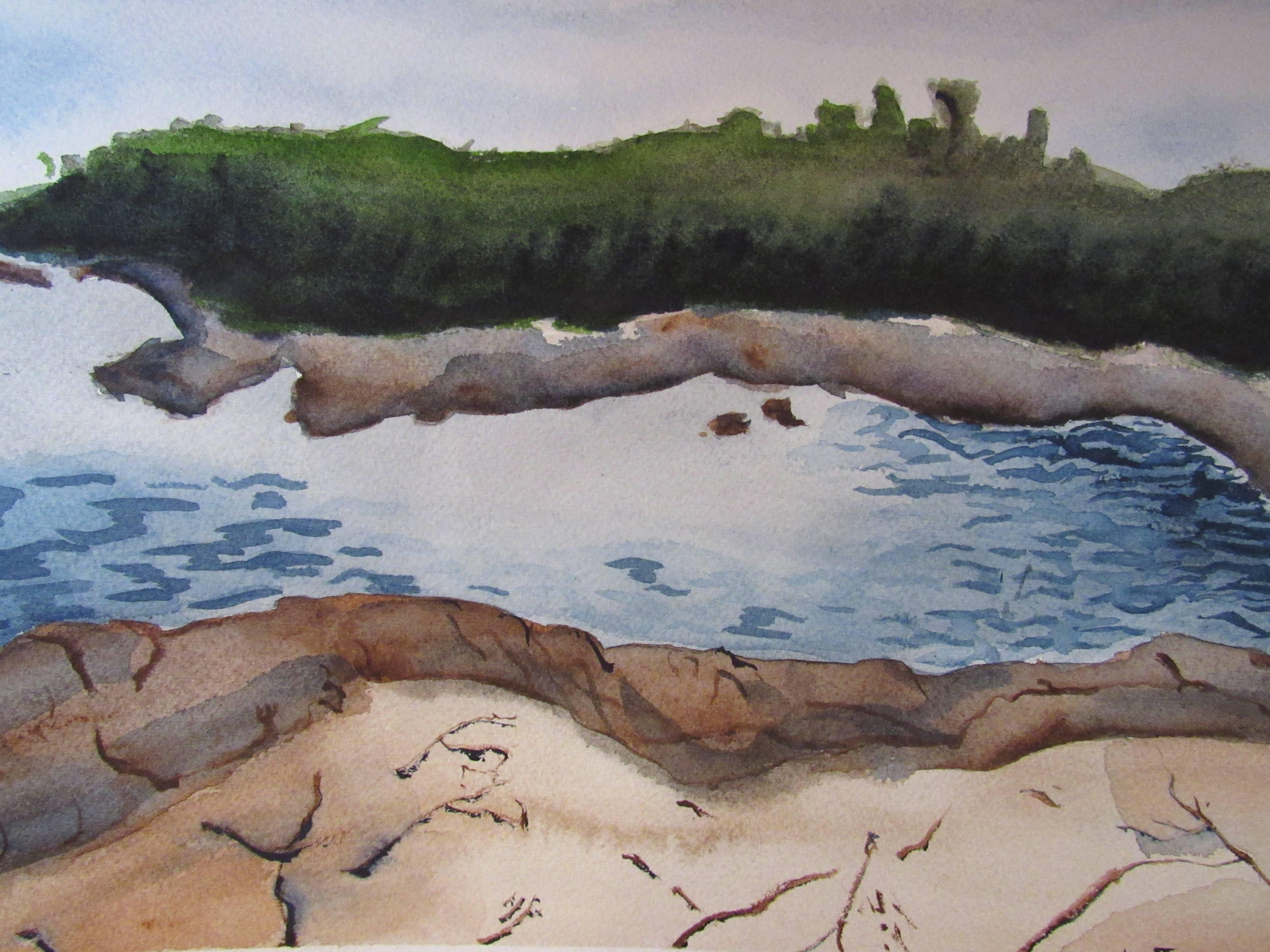 Emilio Torres-Roseberry Watercolor - Age 17