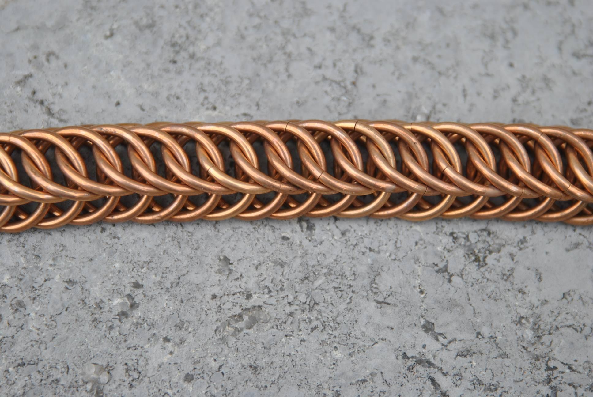 Bronze 'Persian' cuff