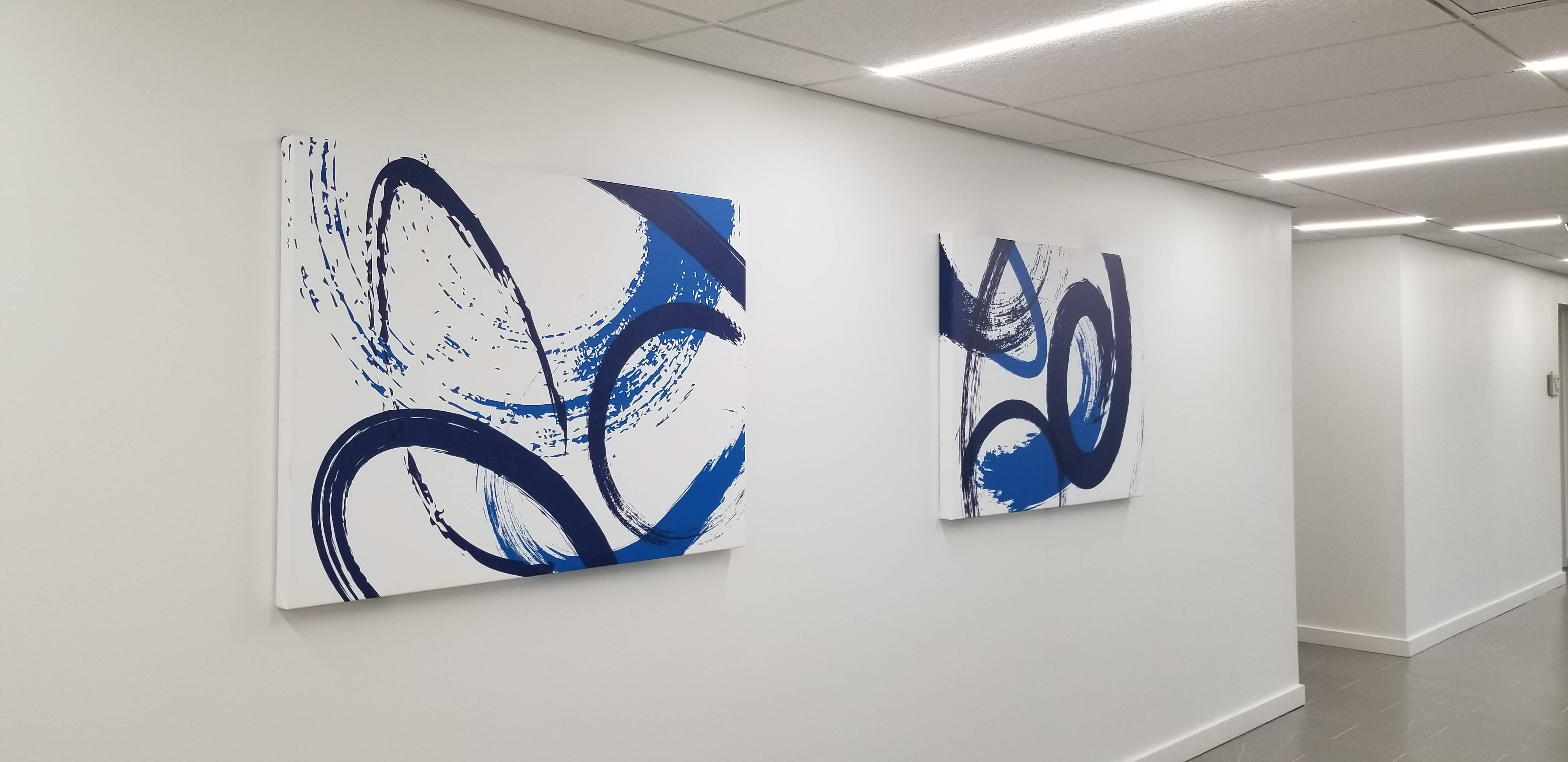 Canvas art installation experts in herndon Virginia