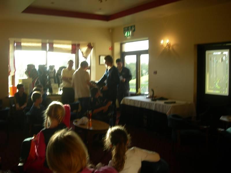 Junior Captain's prize 2012