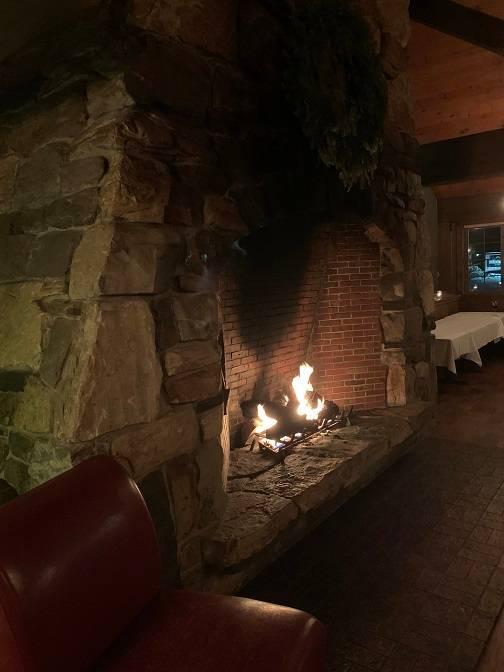Festive Fireplace!