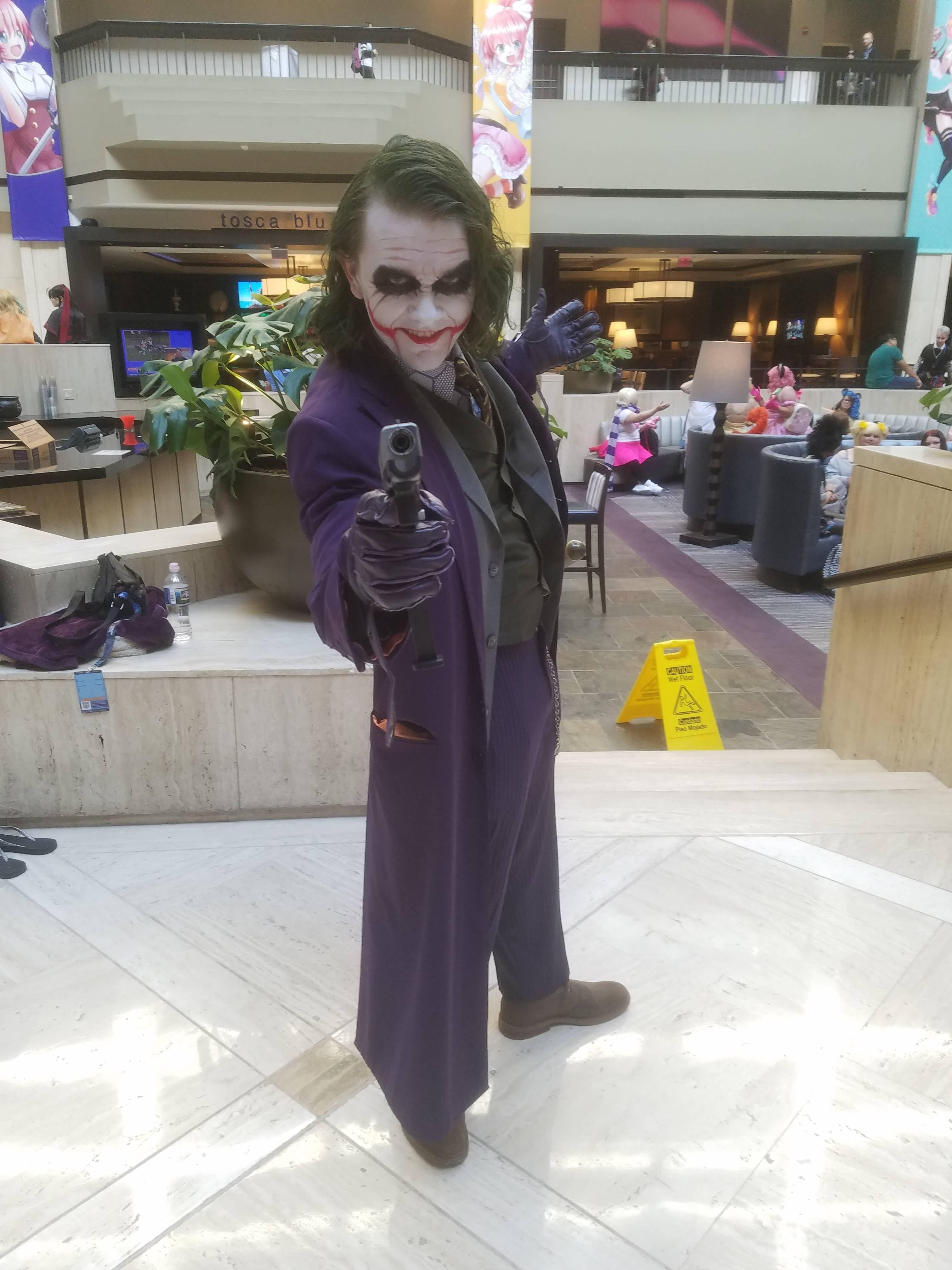 Joker (Heathe Ledger)