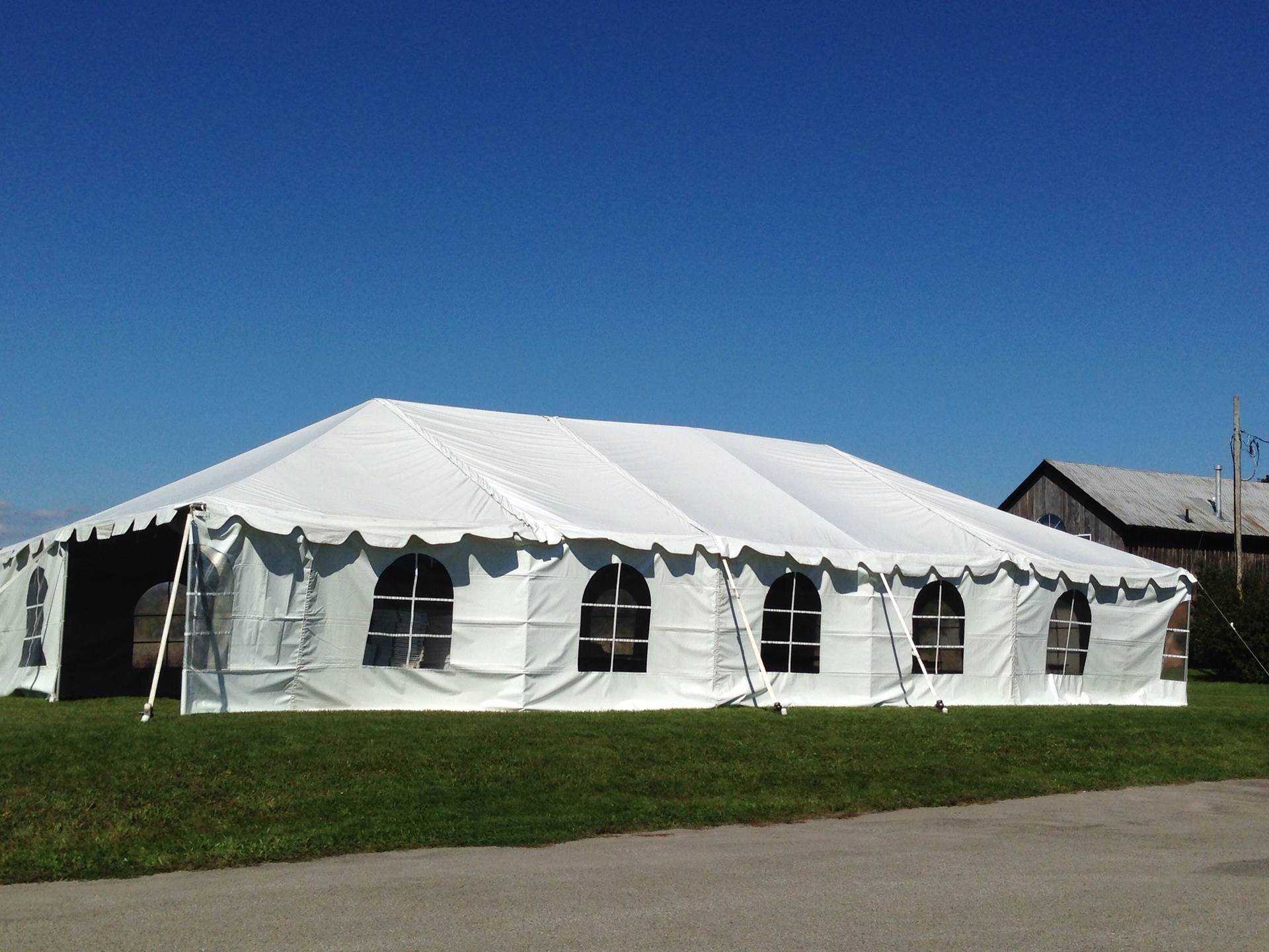 30' wide Tent layouts