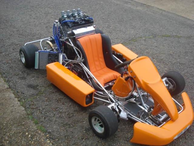1000CC gsxr kart using expert ,msx and paddles