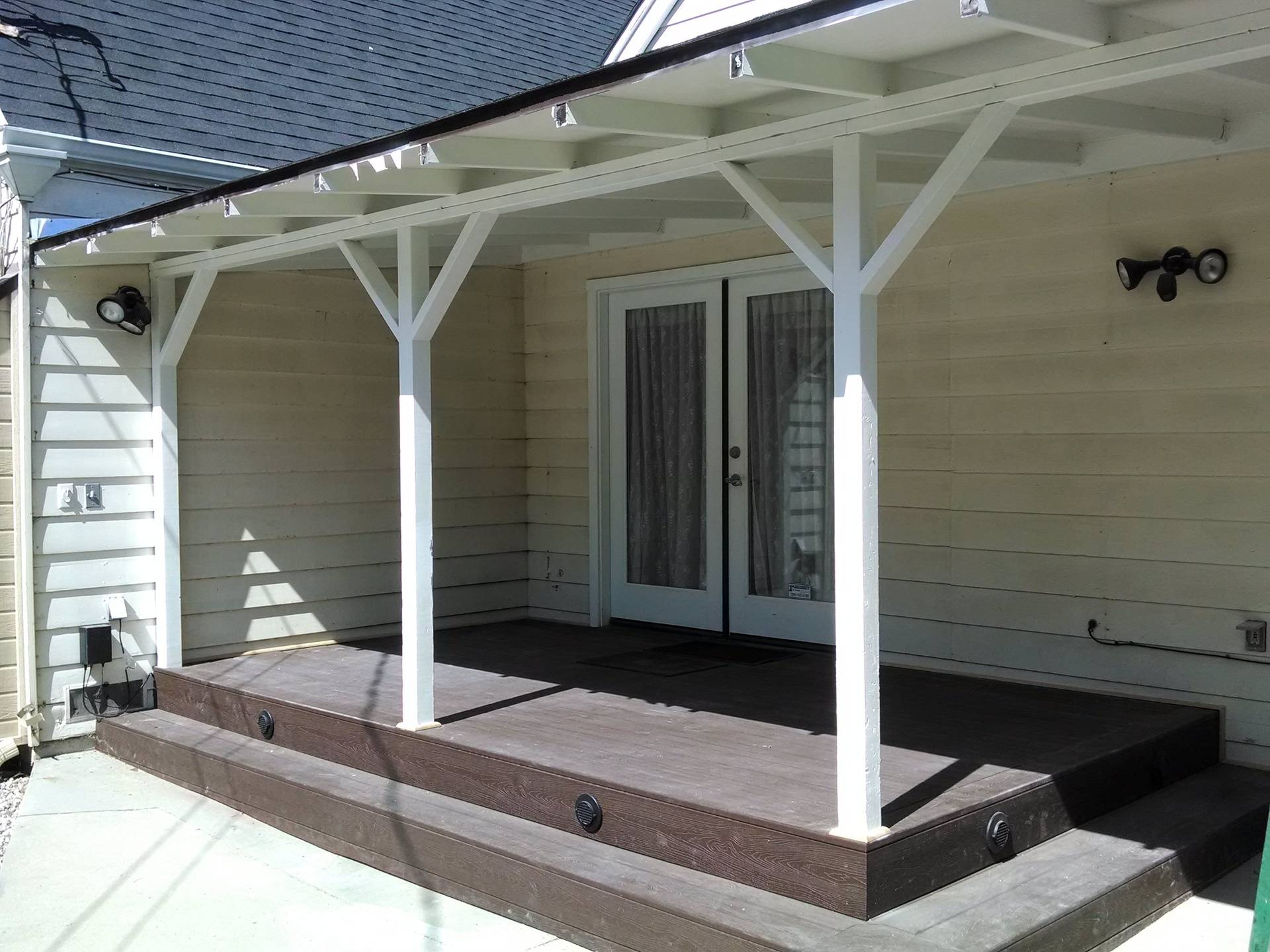 Patio cover and Deck