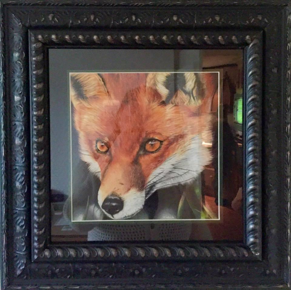 Reynard in his lovely frame